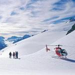 Полет на вертолете на Фок Глэсиер